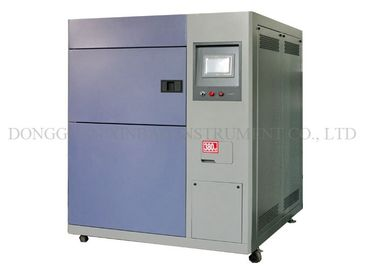 Stainless Steel Plate Thermal Syok Chamber Testing Machine Touch Screen Controller