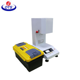 Layar Warna Mesin Uji Tarik Universal, Plastik Melt Mass Flow Rate MFR Test Meter